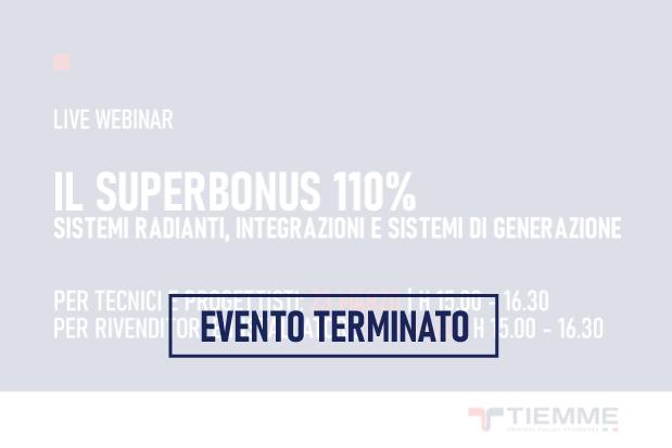 Webinar Superbonus 110%