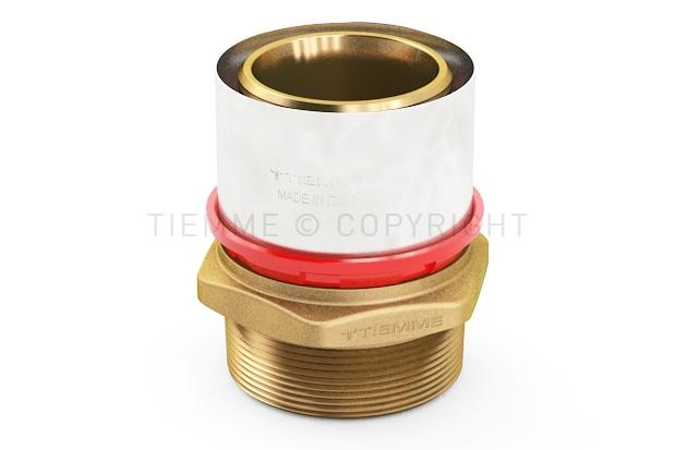 """Raccordo a pressare serie 1650 """"COBRAPRESS"""" per tubo multistrato Ø 90 mm"""