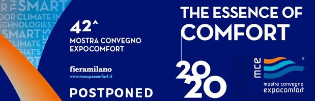 MCE 2020 Postponed