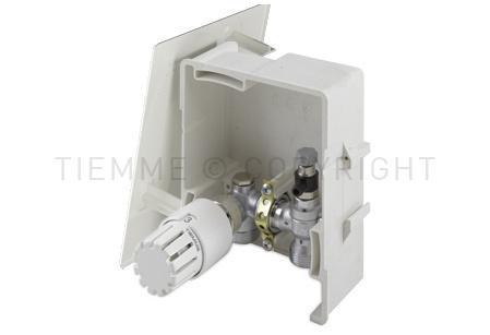 4490 TIEMME BOX 1 per la regolazione del riscaldamento sulla base della temperatura ambiente