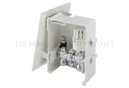 4491 TIEMME BOX 2 per la limitazione della temperatura di ritorno del circuito di riscaldamento (RTL)
